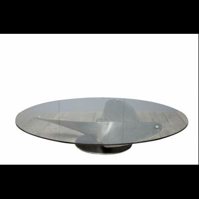 OLD PROPELLOR COFFEE TABLE LARGE